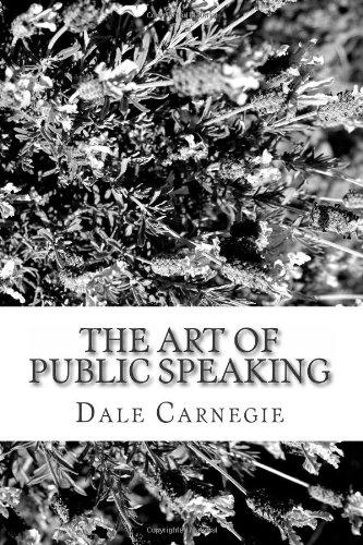 9781484060278: The Art of Public Speaking