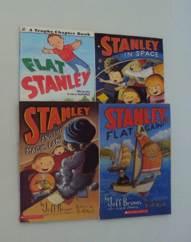 Flat Stanley Books Set: Stanley and the Magic Lamp - Stanley, flat again - Stanley in Space (An Unofficial Box Set) (1484062140) by Jeff Brown