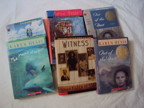 9781484062289: Classroom Library Books: Karen Hesse : The Music of Dolphins, Witness, Out of Dust (Grade 3-6)