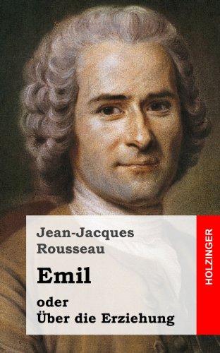 9781484070734: Emil oder über die Erziehung (German Edition)
