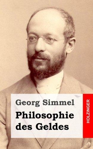 9781484070857: Philosophie des Geldes