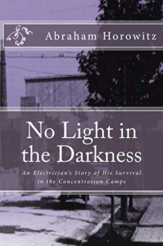 9781484071663: No Light in the Darkness: An Electrician's Story of His Survival in the Concentration Camps