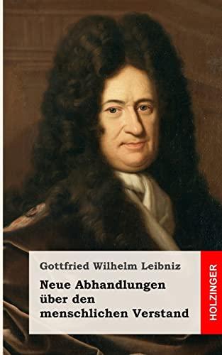 9781484071922: Neue Abhandlungen über den menschlichen Verstand