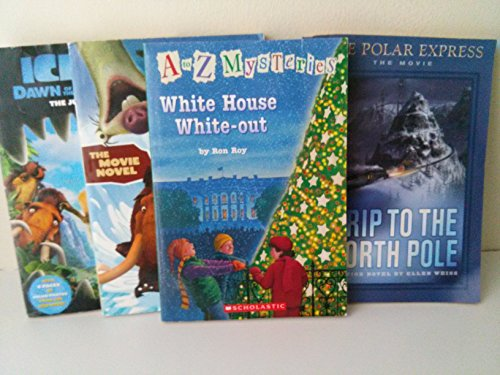 9781484078402: Christmas Series Mix: Book Set for Kids: A to Z Mysteries, White House White Out; Trip to the North Pole, Polar Express; Ice Age 1-2 (The Unofficial Box Set)