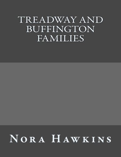 9781484080214: Treadway And Buffington Families