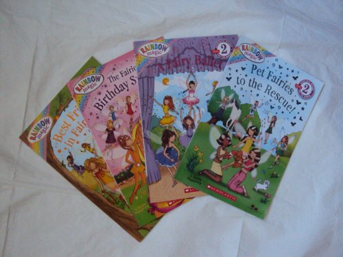 9781484084762: Rainbow Fairies Set for Kids (4) : The Fairies Birthday Surprise - Best Friends in Fairyland - A Fairy Ballet (Scholastic Reader ; Level 2; Rainbow Magic)