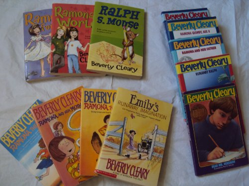 9781484089552: Cleary Collection: Emily's Runaway Imagination; Runaway Ralph; Dear Mr. Henshaw; Henry Huggins; Ramona the Brave; Ramona the Pest; Ramona & Her Mother; Ramona & Her Father; Ramona Quimby Age 8; Ramona's World; Ramona Forever
