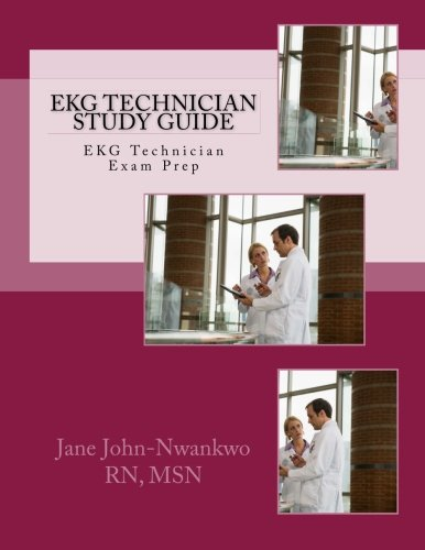 9781484092842: EKG Technician Study Guide (Exam Prep Series)
