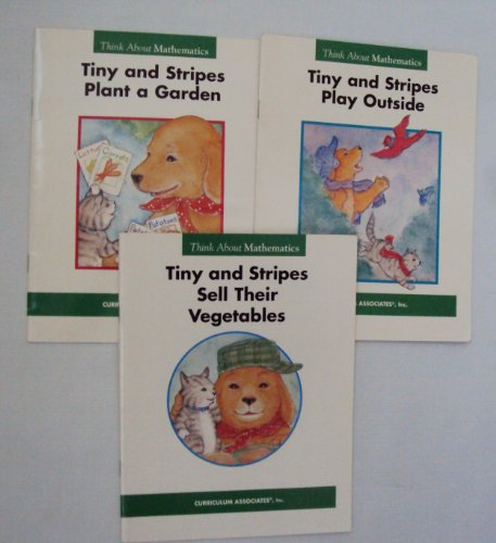 Think About Math Book Set for Children: Tiny and Stripes Plant a Garden - Tiny and Stripes Play Outside - Tiny and Stripes Sell Their Vegetables (Think About Mathematics) (148410417X) by Gare Thompson