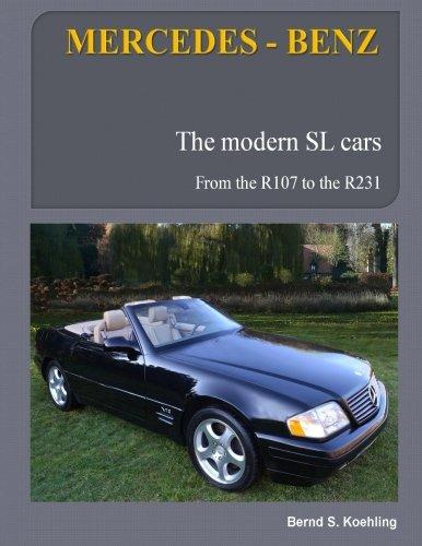 9781484108246: MERCEDES-BENZ, The modern SL cars: R107, R129, R230, R231