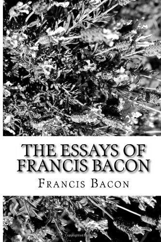 9781484116661: The Essays of Francis Bacon