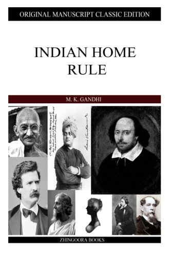 9781484122570: Indian Home Rule