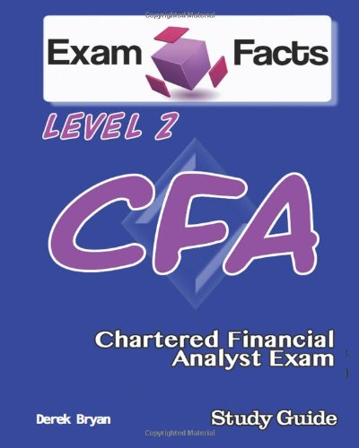 9781484126837: Exam Facts CFA - Chartered Financial Analyst Level 2 Exam Study Guide: CFA Level 2 Exam Prep