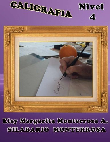 9781484126929: Caligrafía Nivel 4: Grafomotricidad en Doblerayado, apto desde siete años: Volume 14 (Silabario Monterrosa)
