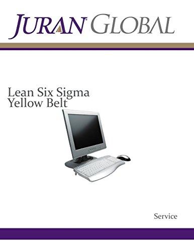 9781484138854: Lean Six Sigma Yellow Belt: Service (Juran Service)