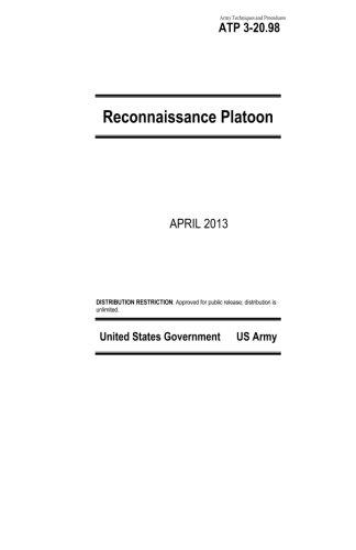 9781484140048: Army Techniques and Procedures ATP 3-20.98 Reconnaissance Platoon April 2013