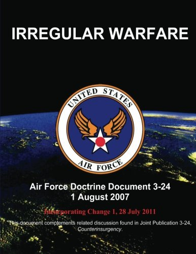 Irregular Warfare (9781484140949) by United States Air Force