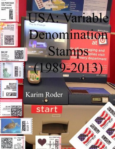9781484148242: USA: Variable Denomination Stamps (1989-2013)