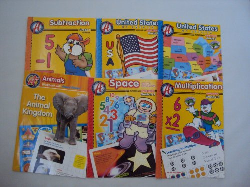 9781484158562: A+ Workbooks Book Set 1st Grade - 3rd Grade (An Unofficial Box Set - WorkBooks for 2nd Grade)