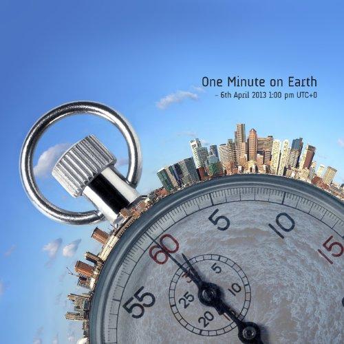 One Minute on Earth: 6th April 13:00 GMT +0 (www.kujaja.com) (Volume 2): Jaja, Kujaja