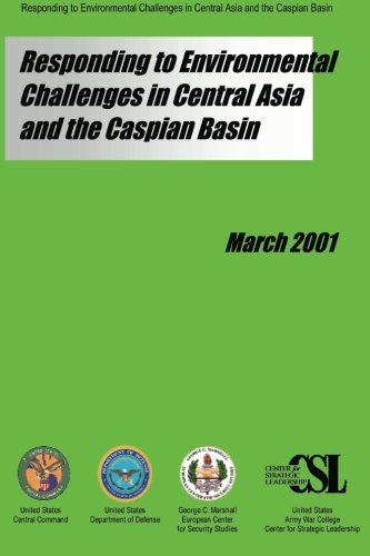 9781484160961: Responding to Environmental Challenges in Central Asia and the Caspian Basin