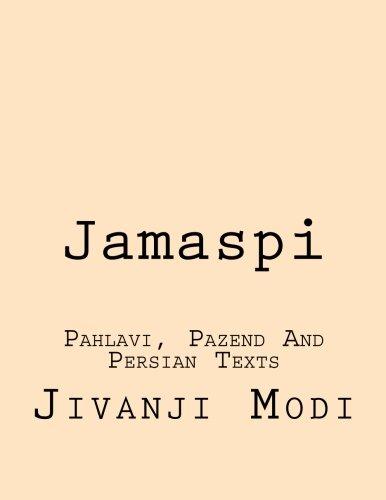 9781484181263: Jamaspi: Pahlavi, Pazend And Persian Texts
