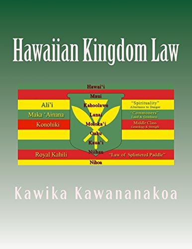 Hawaiian Kingdom Law: Ua Mau Ke EA: Kawika Kawana Nakoa,