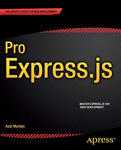 9781484200384: Pro Express.js