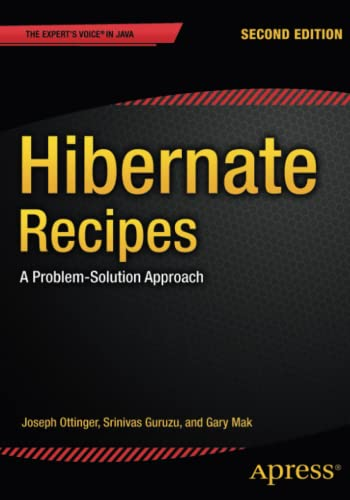 9781484201282: Hibernate Recipes: A Problem-Solution Approach