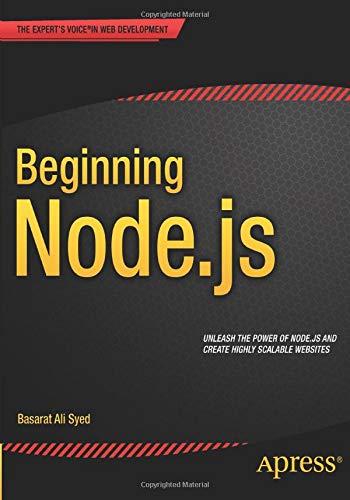 9781484201886: Beginning Node.js