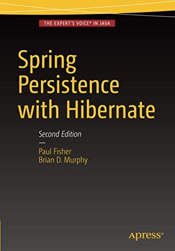 9781484202692: Spring Persistence with Hibernate