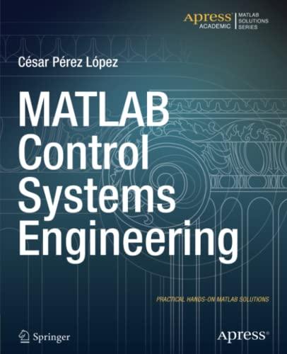 9781484202906: MATLAB Control Systems Engineering - AbeBooks