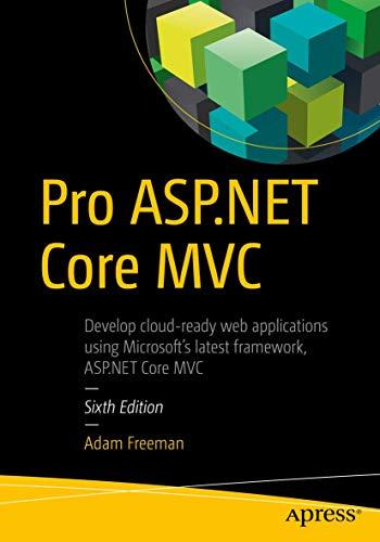 9781484203989: Pro ASP.NET Core MVC