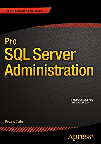 9781484207116: Pro SQL Server Administration
