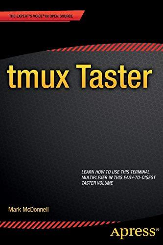 9781484207765: tmux Taster