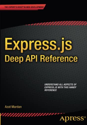 Express.js Deep API Reference: AZAT MARDAN
