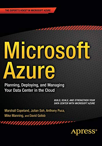 9781484210444: Microsoft Azure: Planning, Deploying and Managing Your Data Center in the Cloud