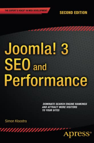 9781484211250: Joomla! 3 SEO and Performance