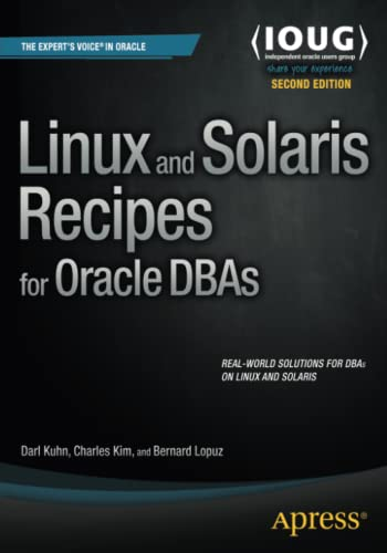 9781484212554: Linux and Solaris Recipes for Oracle DBAs