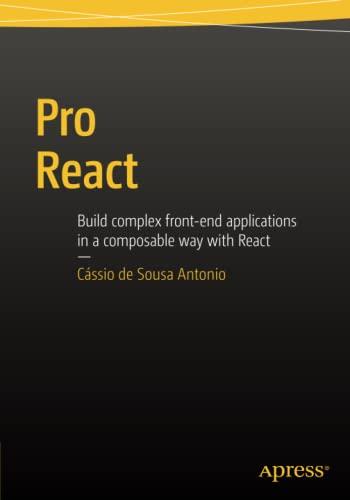 9781484212615: Pro React