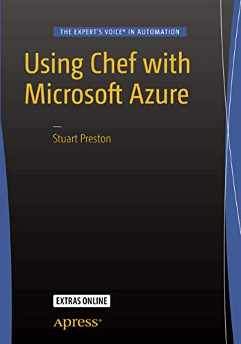 9781484214770: Using Chef with Microsoft Azure