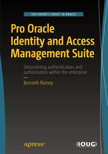 9781484215227: Pro Oracle Identity and Access Management Suite
