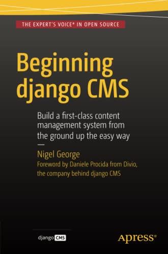 9781484216705: Beginning Django CMS