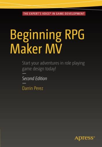 9781484219669: Beginning RPG Maker MV