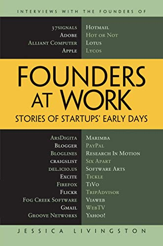 9781484220344: Founders at Work: Stories of Startups' Early Days
