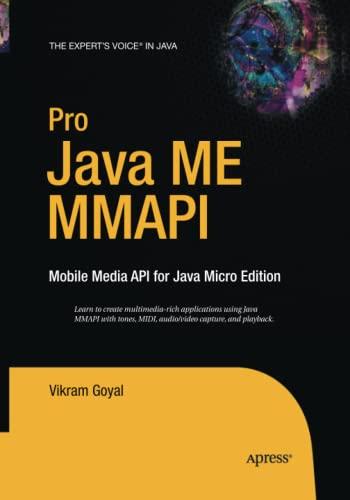 9781484220948: Pro Java ME MMAPI: Mobile Media API for Java Micro Edition