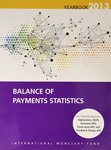 9781484315439: Balance of Payments Statistics Yearbook: 2013