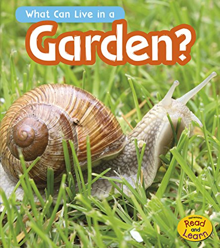 What Can Live in the Garden? (Heinemann Read and Learn): Wilkins, John-Paul