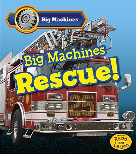 9781484609859: Big Machines Rescue!