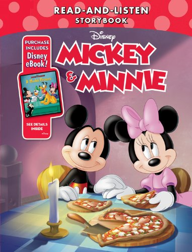 9781484704363: Mickey & Minnie Read-And-Listen Storybook: Purchase Includes Disney eBook!